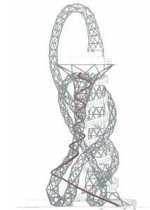 ArcelorMittal sculpture is being turned into the worlds longest slide Orbit2 Bblur Architects